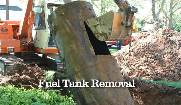 Fuel Tank Removal