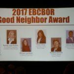 Good Neighbor Award East Bergen Real Estate Association